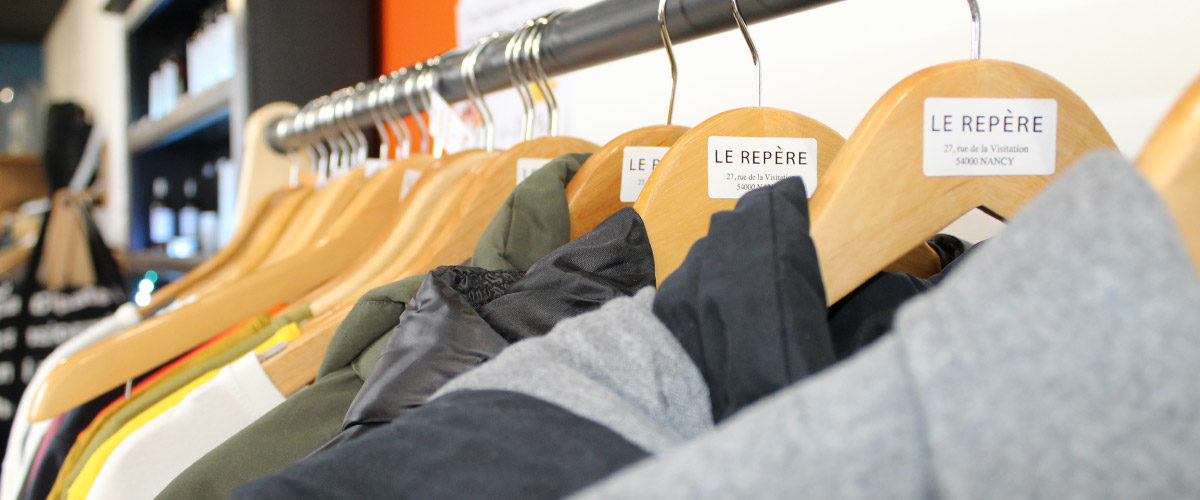 Le Repère vêtements, bijoux et accessoires à nancy